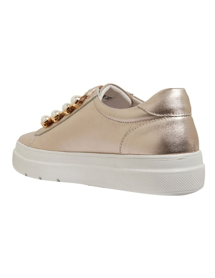 Bant Soft Gold Metallic Sneakers image 6