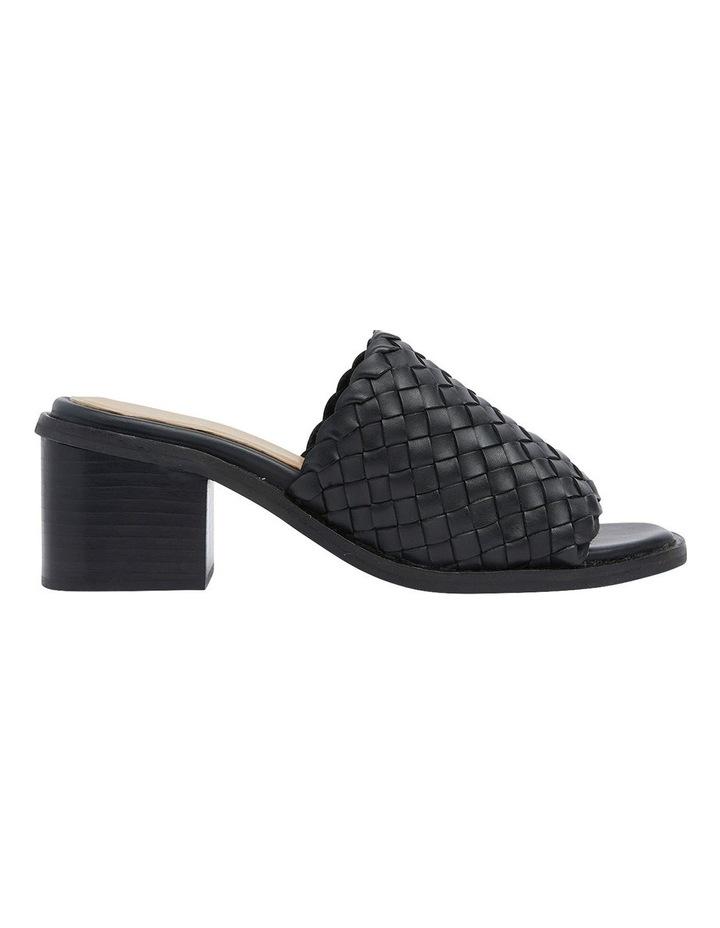 Halifax Black Weave Sandals image 1