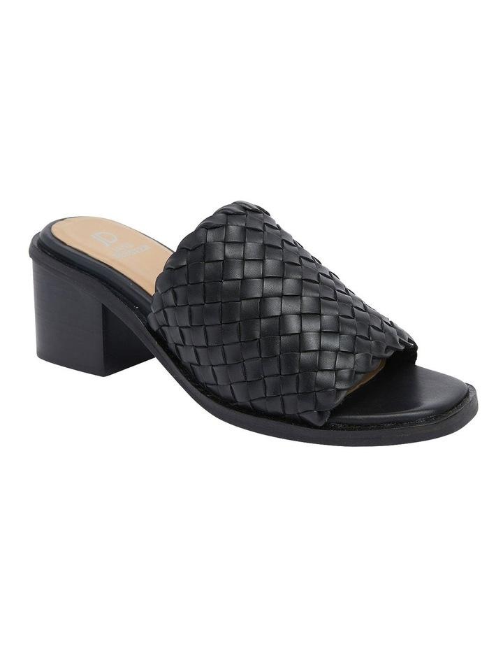 Halifax Black Weave Sandals image 2