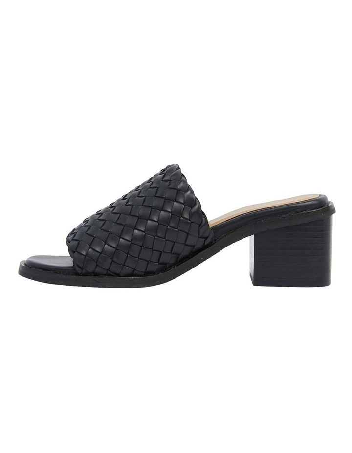 Halifax Black Weave Sandals image 3