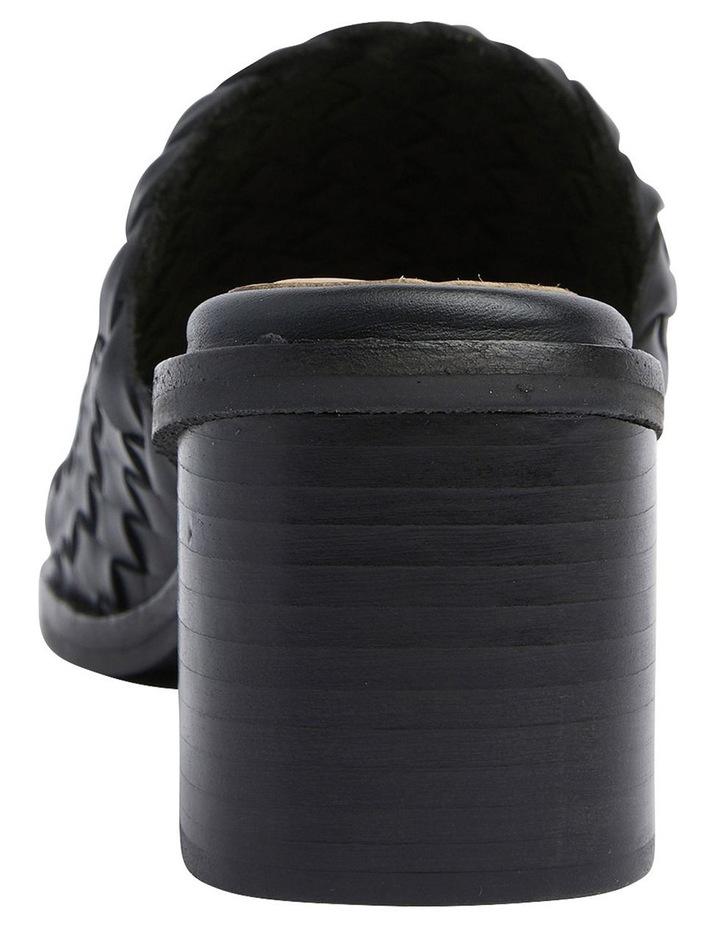 Halifax Black Weave Sandals image 5
