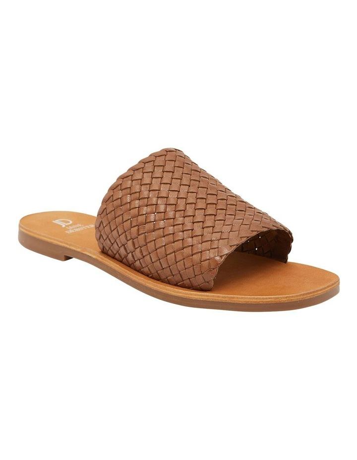 Tatum Cognac Weave Sandals image 1