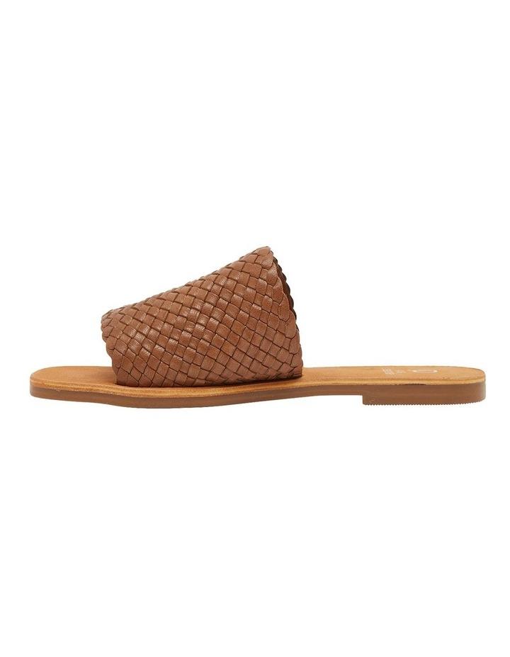 Tatum Cognac Weave Sandals image 2