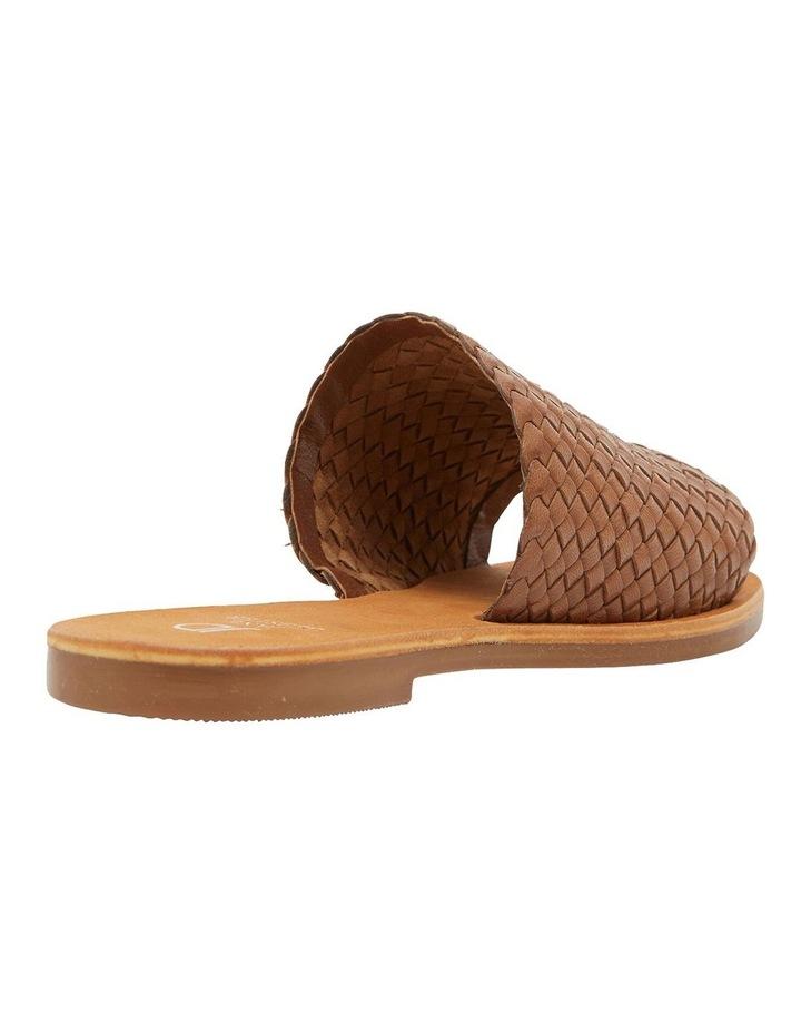 Tatum Cognac Weave Sandals image 3