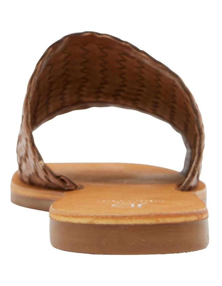 Tatum Cognac Weave Sandals image 4