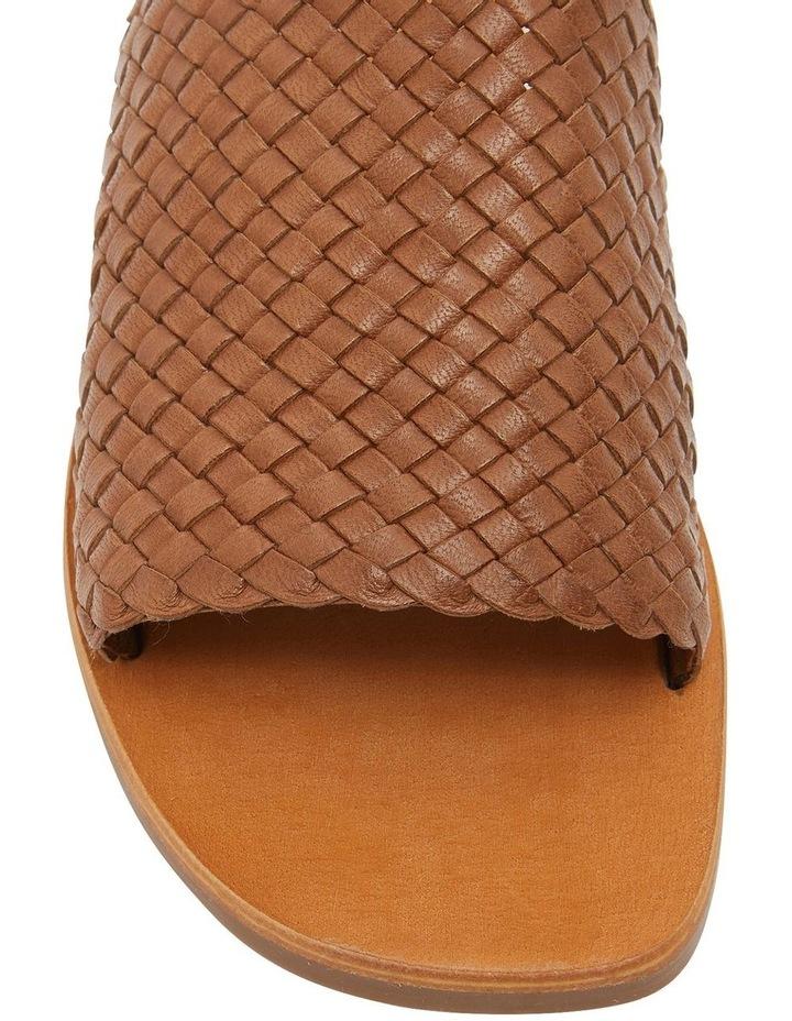Tatum Cognac Weave Sandals image 5