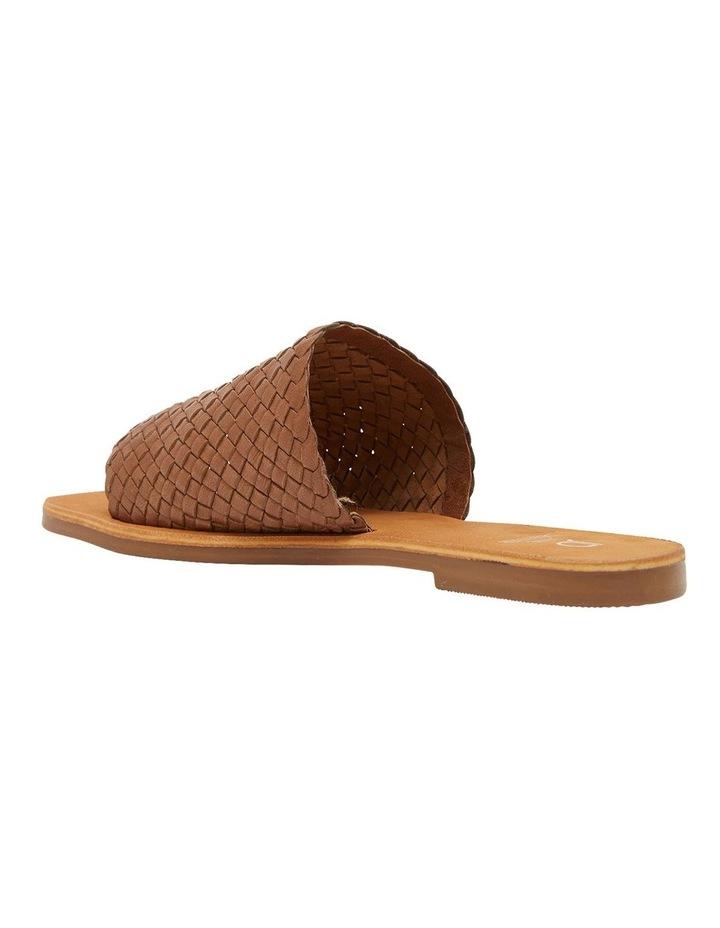Tatum Cognac Weave Sandals image 6