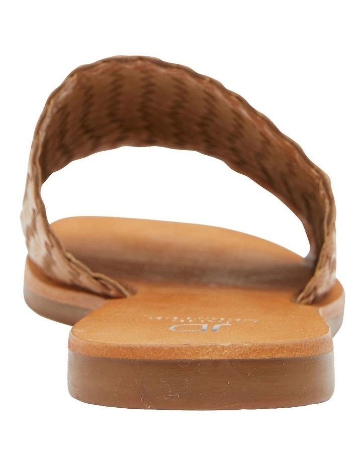 Tatum Tan Weave Sandals image 5