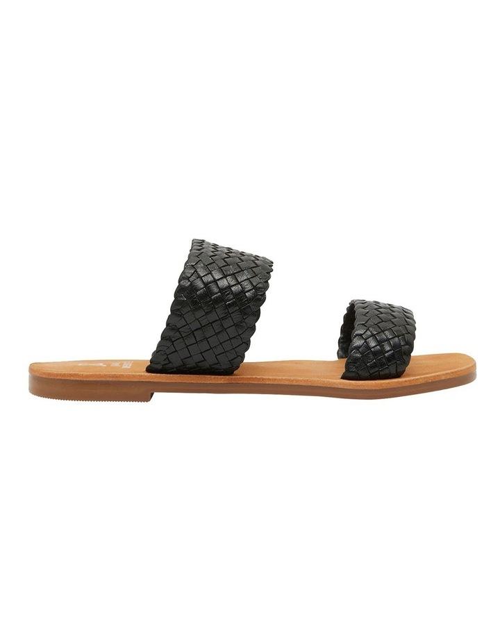 Tora Black Weave Sandals image 1