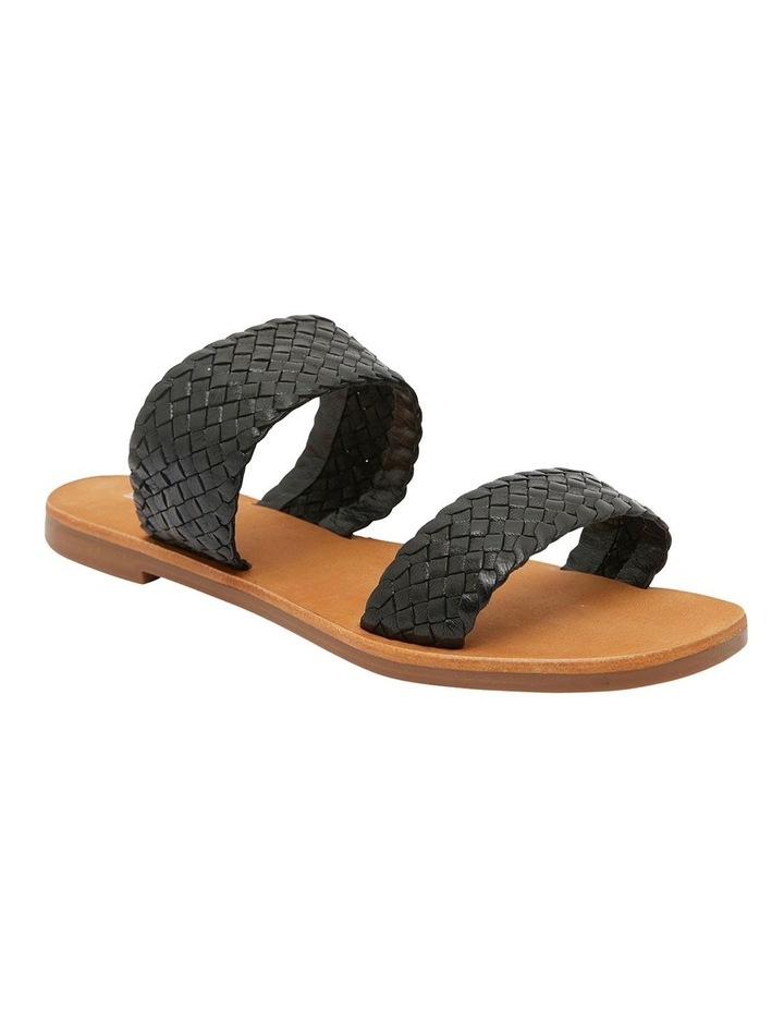 Tora Black Weave Sandals image 2