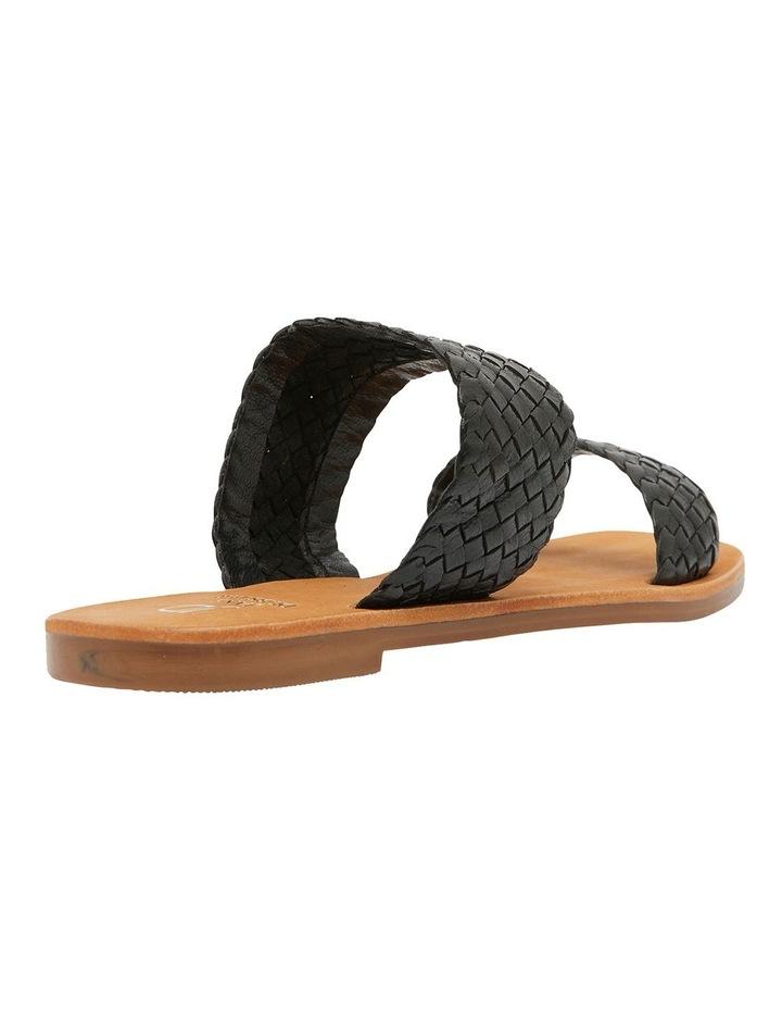 Tora Black Weave Sandals image 3