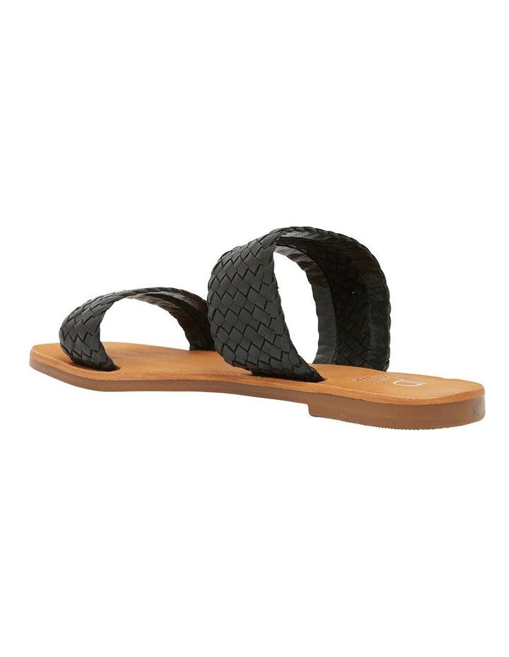Tora Black Weave Sandals image 6