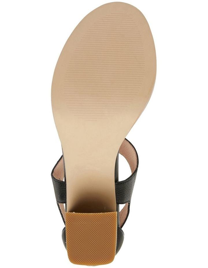 Abigail Black Glove Sandals image 6