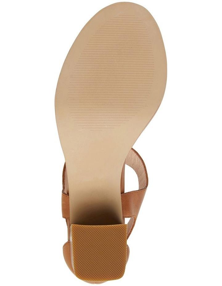 Abigail Tan Glove Sandals image 6