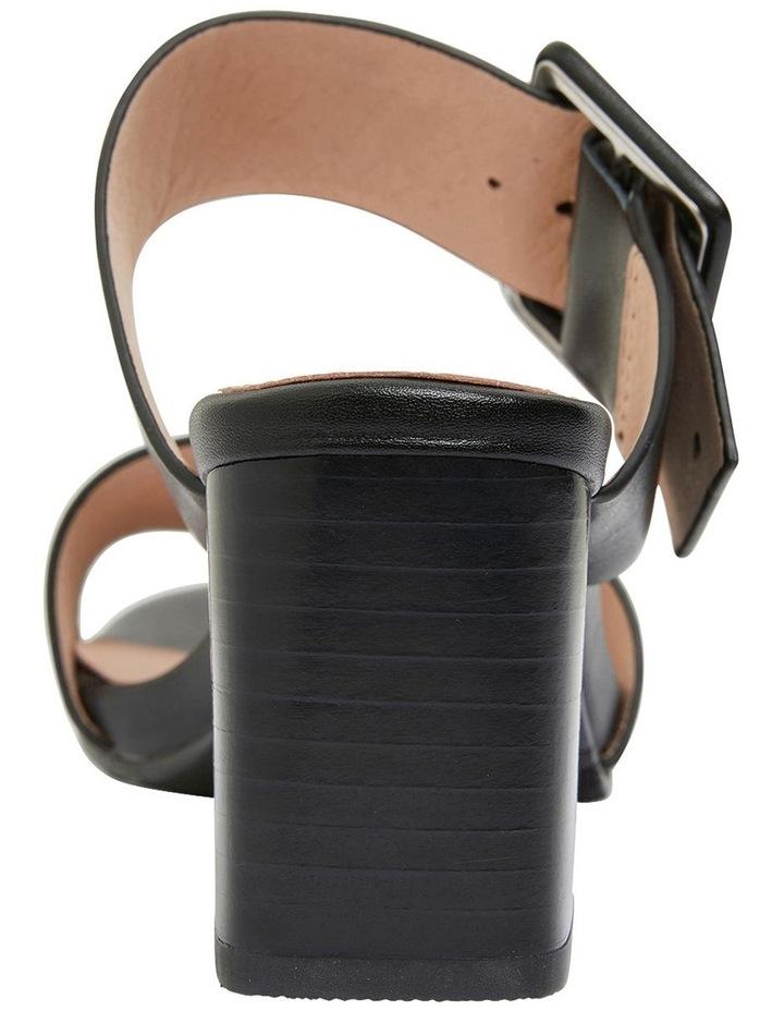 Nate Black Glove Sandals image 5