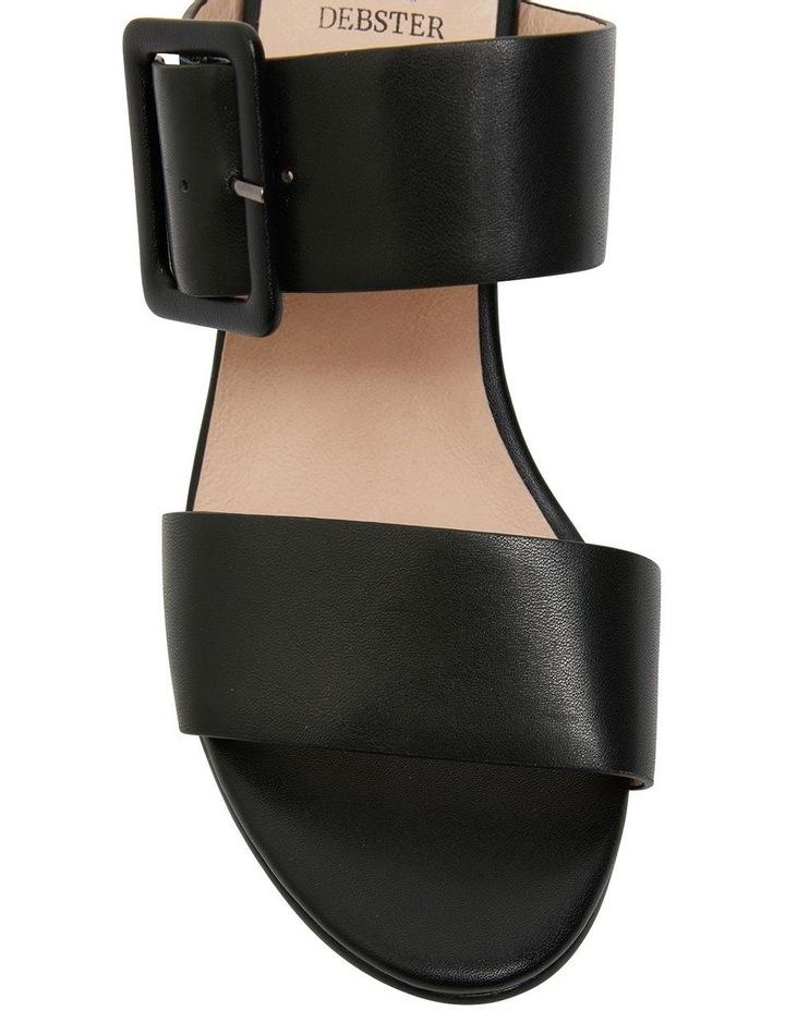 Nate Black Glove Sandals image 6
