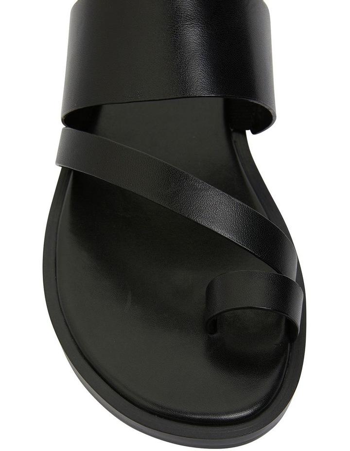Tibet Black Glove Sandals image 4