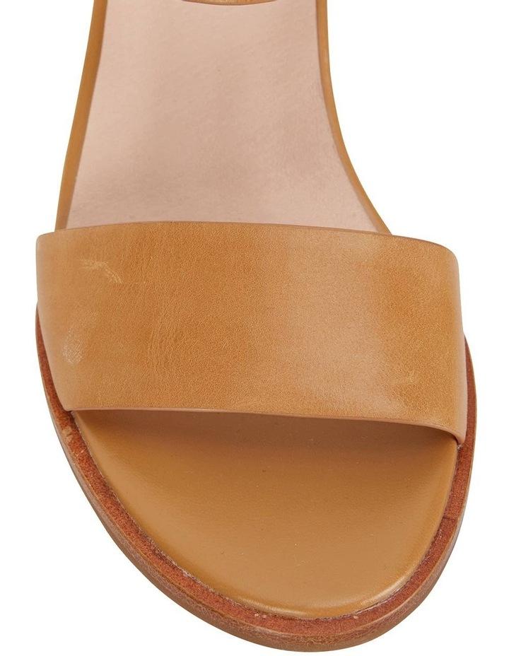 Nickel Tan Calf Sandals image 6