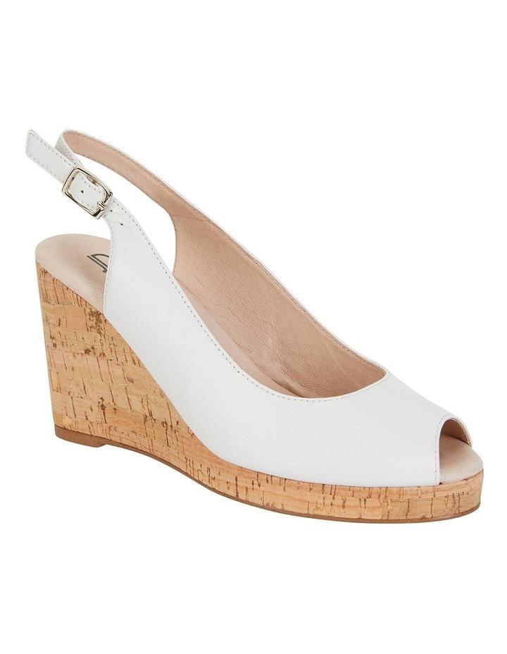 Davina White Glove Sandals image 2