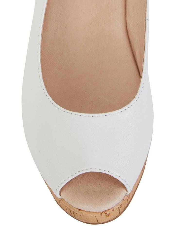 Davina White Glove Sandals image 4