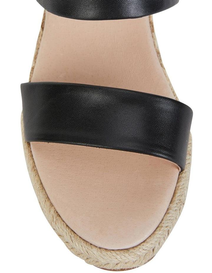 Dice Black Glove Sandals image 5