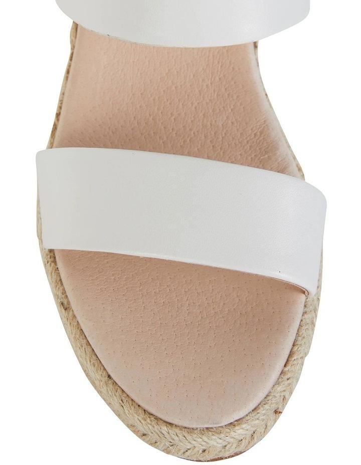 Dice White Glove Sandals image 6