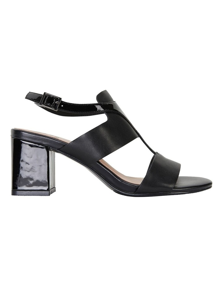 Nitro Black Glove/ Patent Sandal image 1