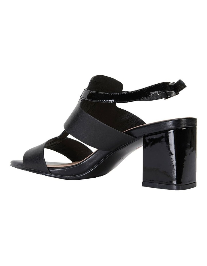 Nitro Black Glove/ Patent Sandal image 7