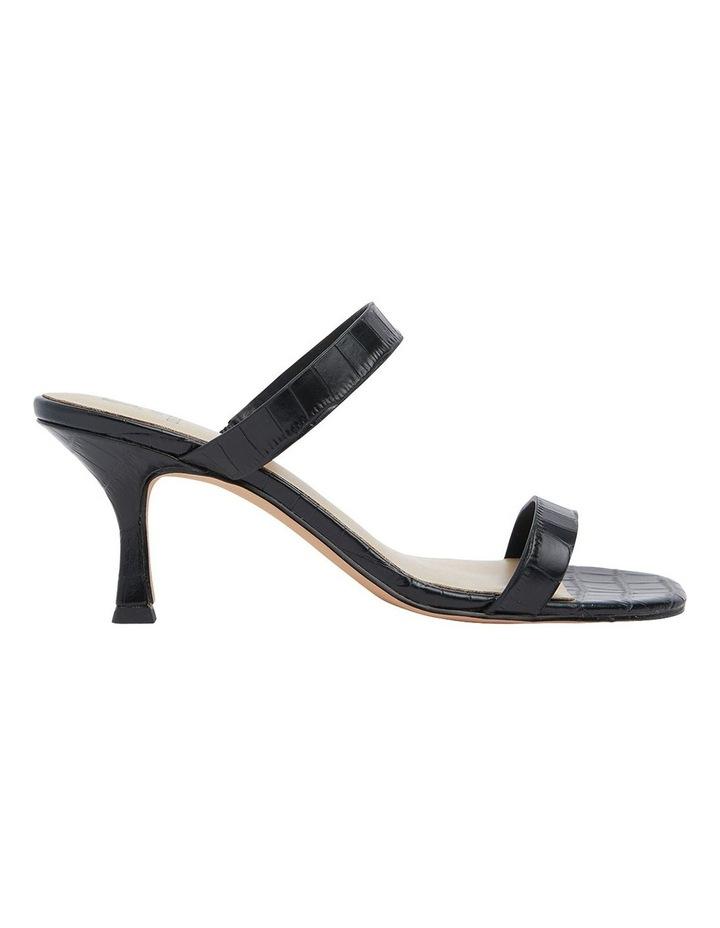 Eva Black Print Sandals image 1