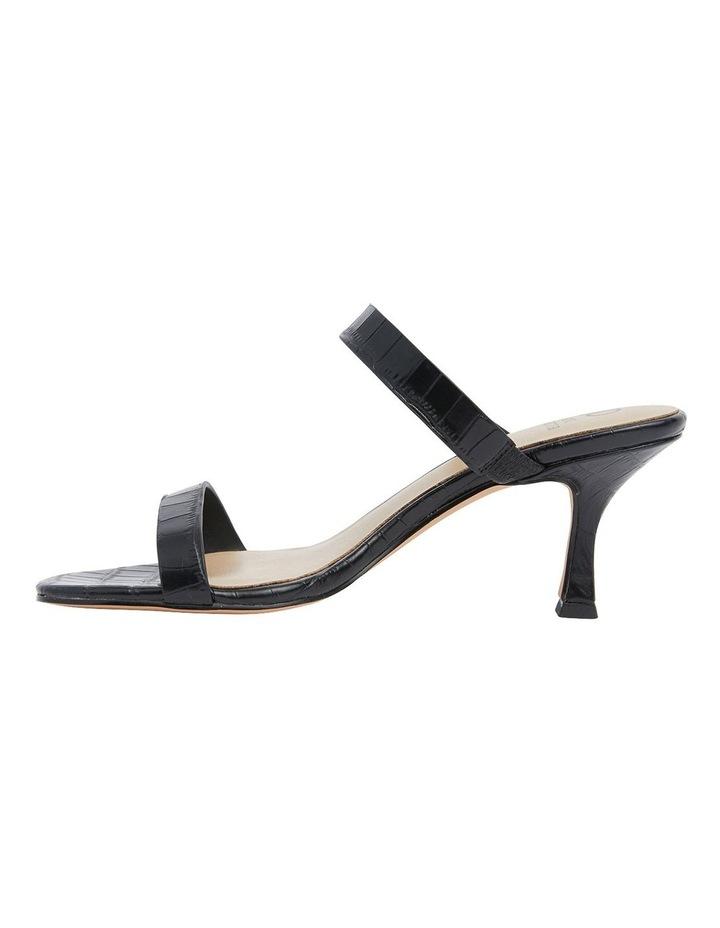 Eva Black Print Sandals image 3