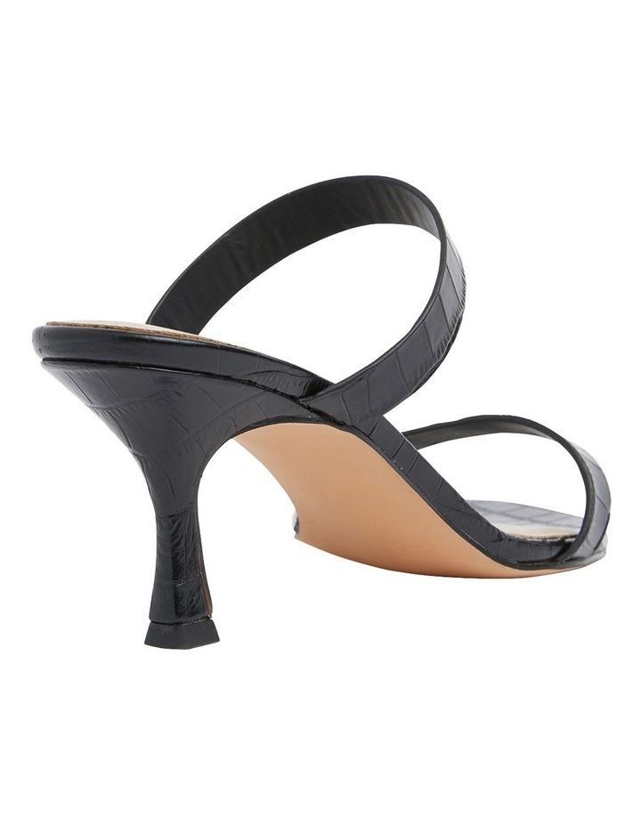 Eva Black Print Sandals image 4