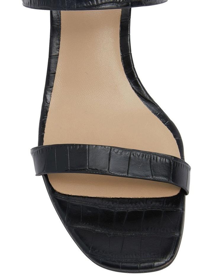 Eva Black Print Sandals image 6
