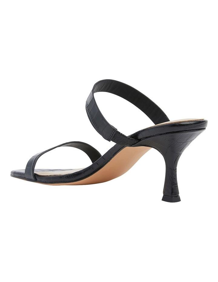 Eva Black Print Sandals image 7