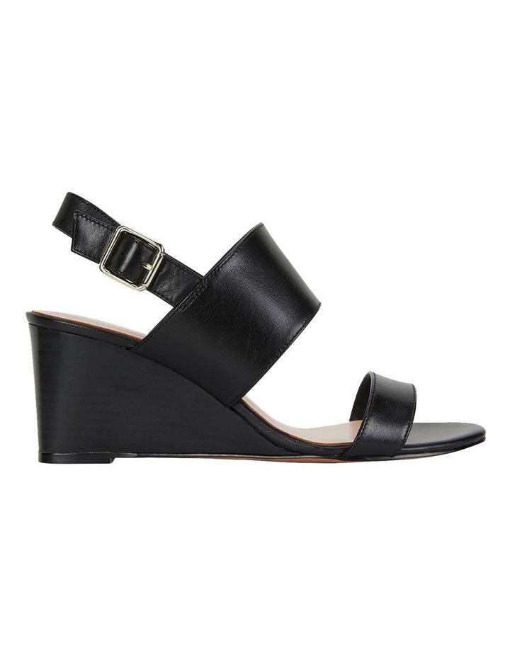 Diana Black Glove Sandals image 1