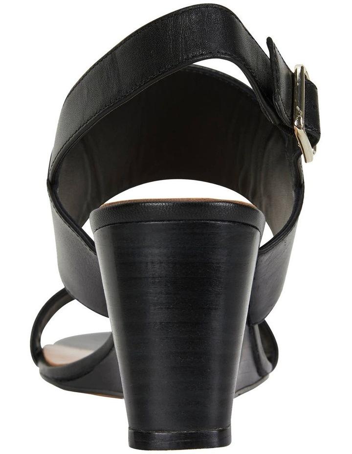 Diana Black Glove Sandals image 5