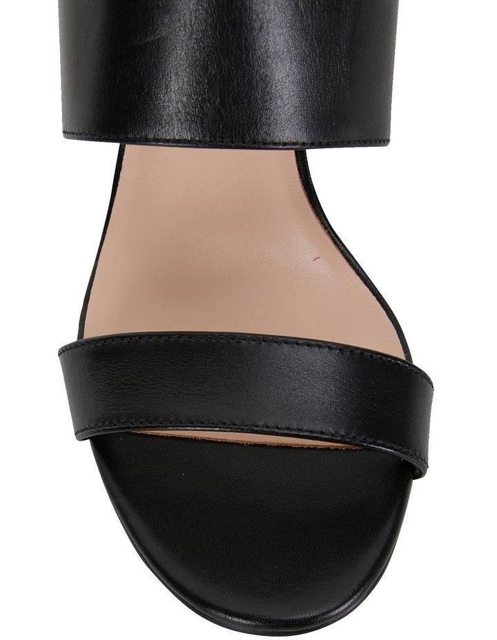 Diana Black Glove Sandals image 6