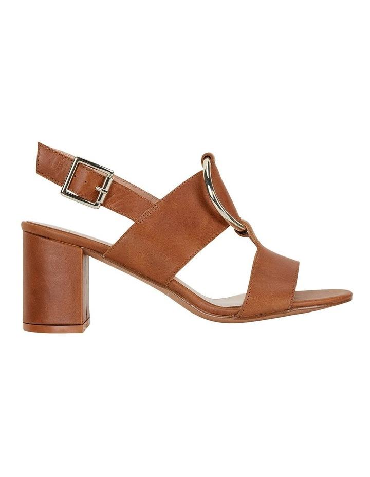 Obsess Tan Glove Sandals image 1