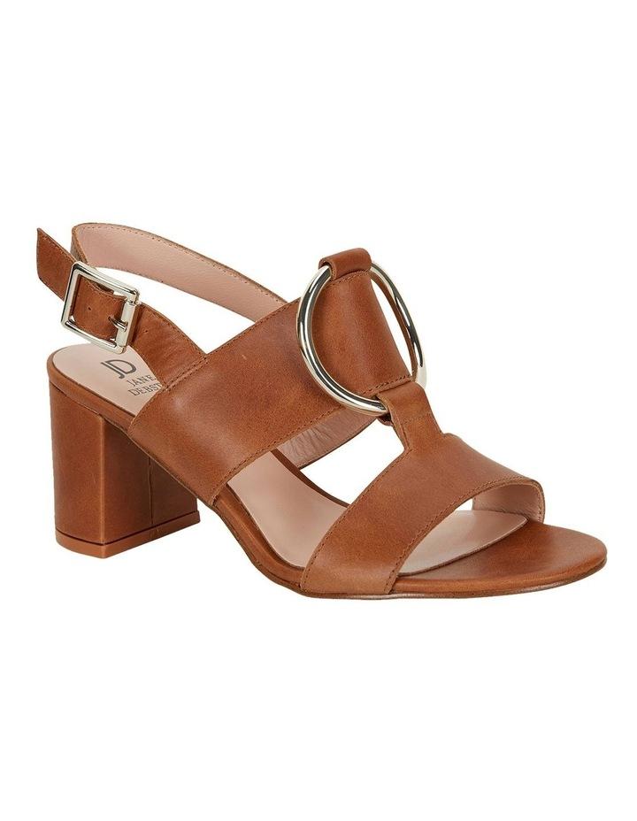 Obsess Tan Glove Sandals image 2