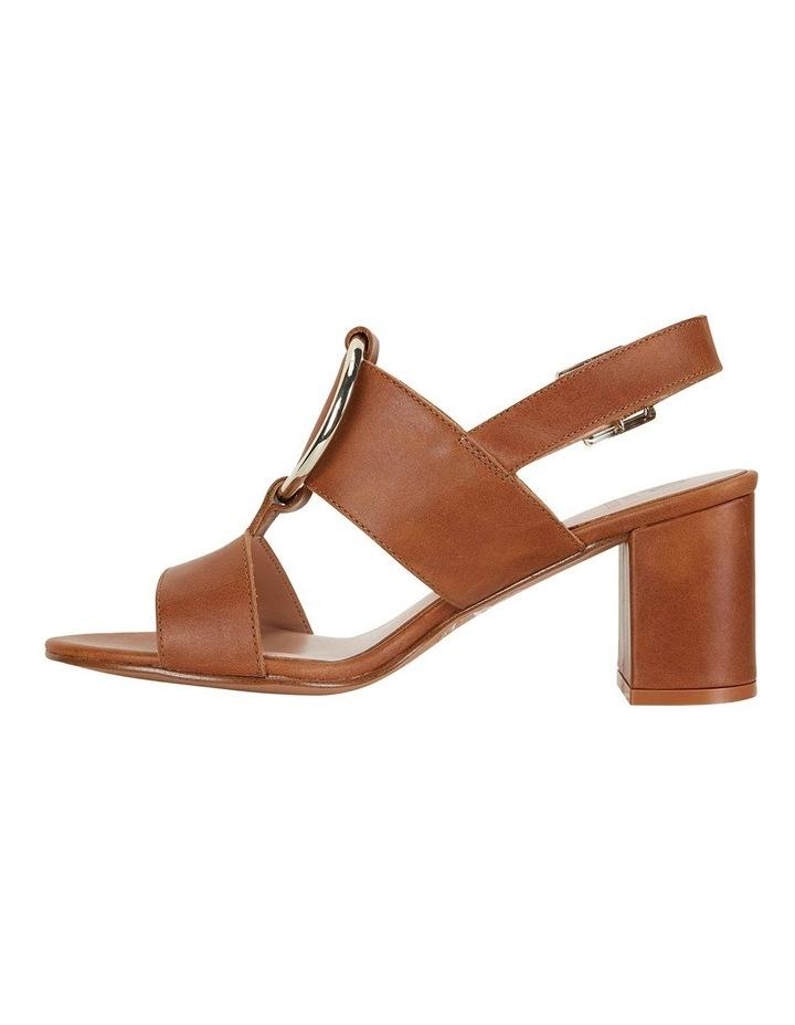 Obsess Tan Glove Sandals image 3