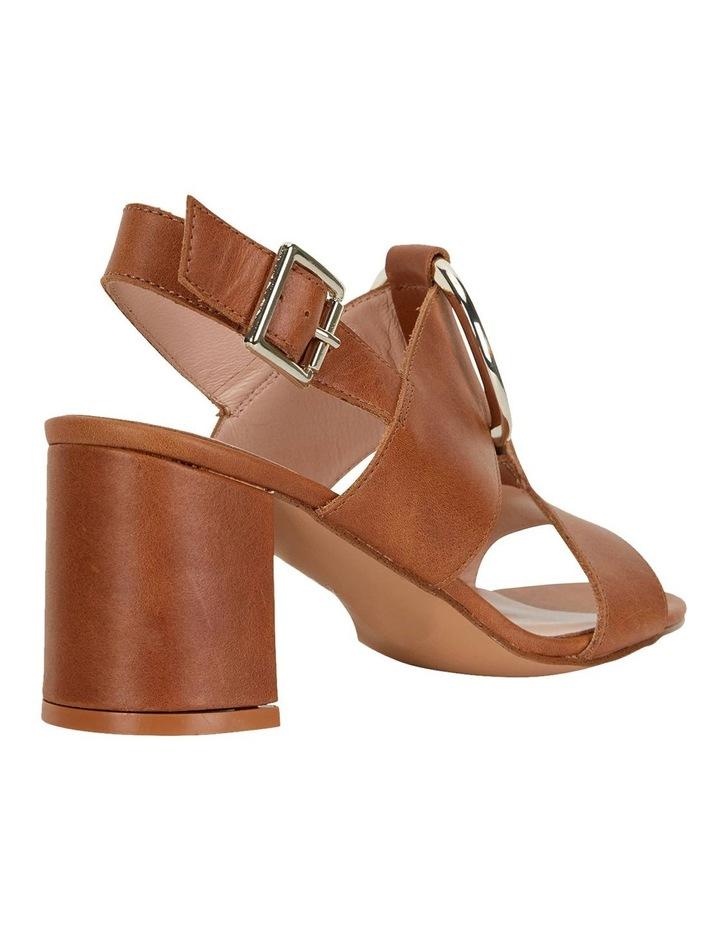 Obsess Tan Glove Sandals image 4