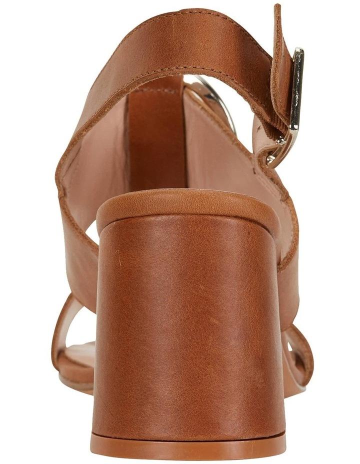 Obsess Tan Glove Sandals image 5