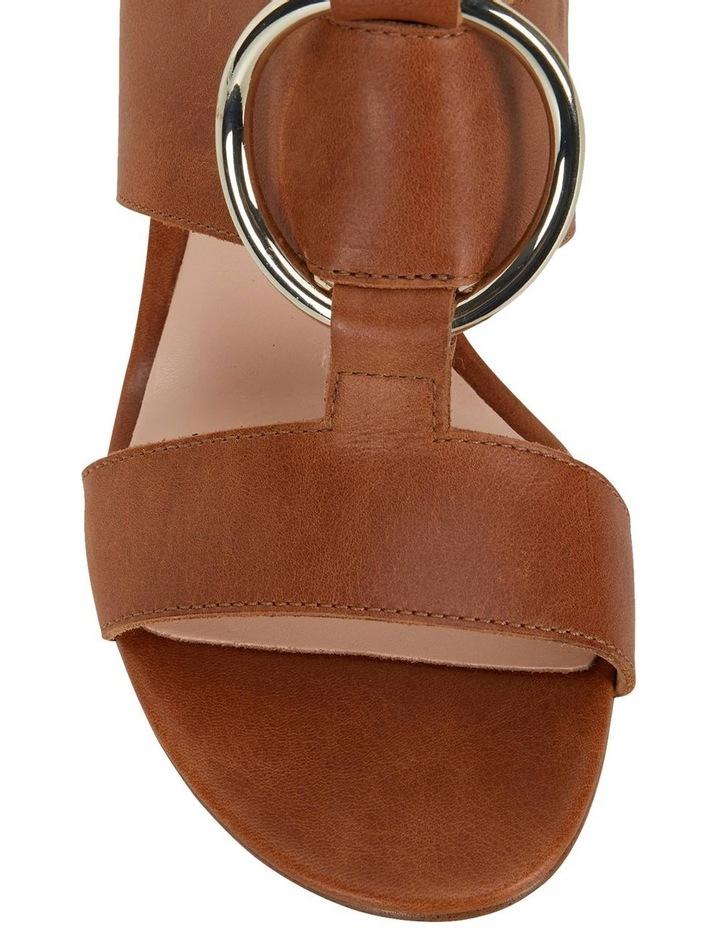Obsess Tan Glove Sandals image 6