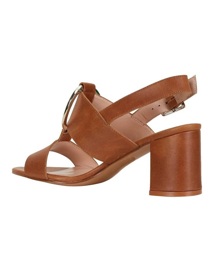 Obsess Tan Glove Sandals image 7