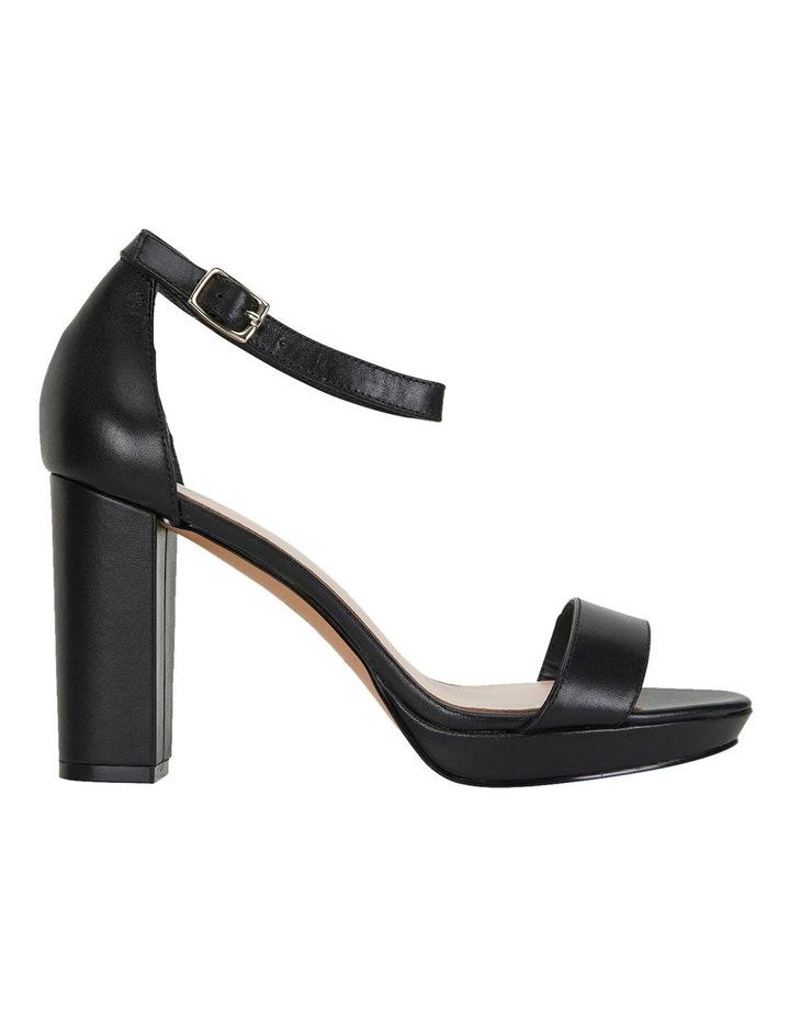 Lush Black Glove Sandals image 1