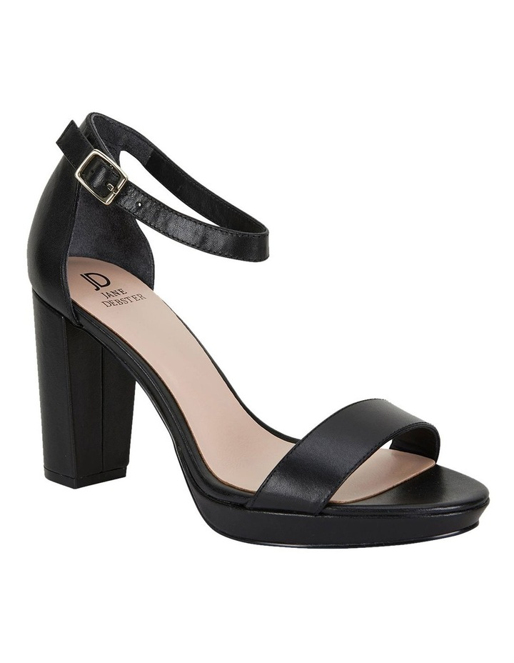 Lush Black Glove Sandals image 2