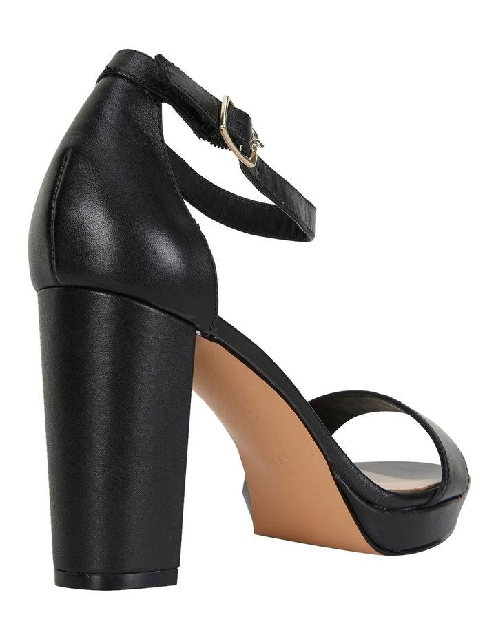 Lush Black Glove Sandals image 5