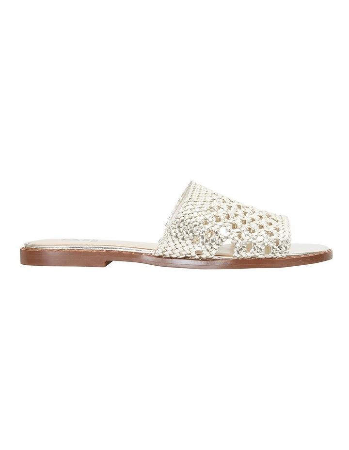 Becky Gold Metallic Sandals image 1
