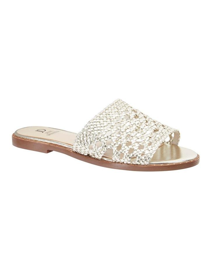 Becky Gold Metallic Sandals image 2