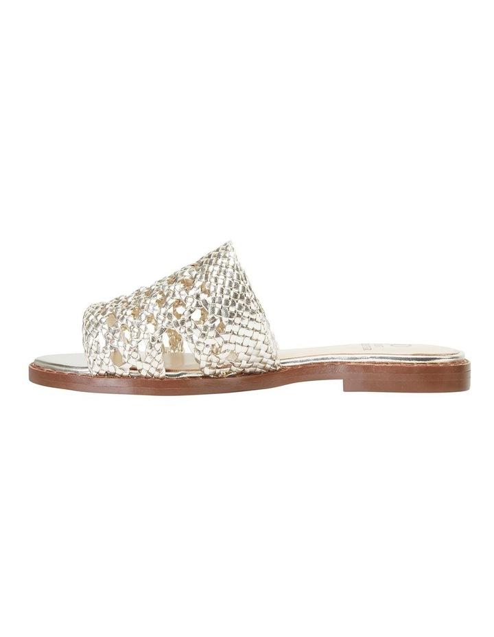 Becky Gold Metallic Sandals image 3