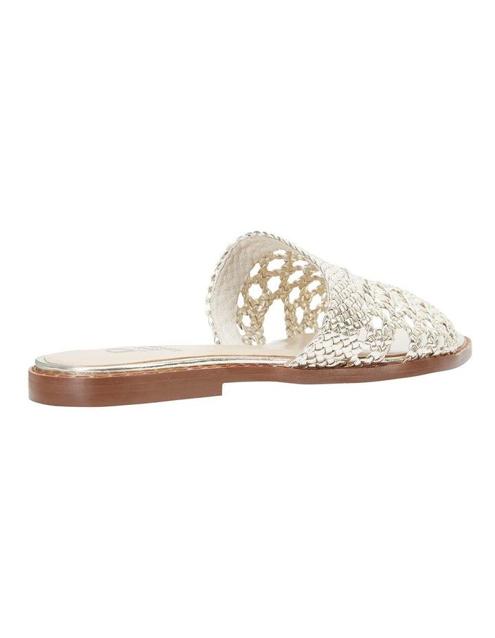 Becky Gold Metallic Sandals image 4